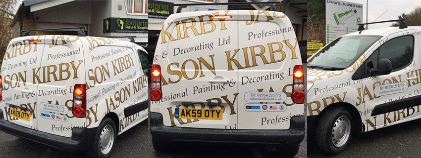 Van Wrapping | Van Signs