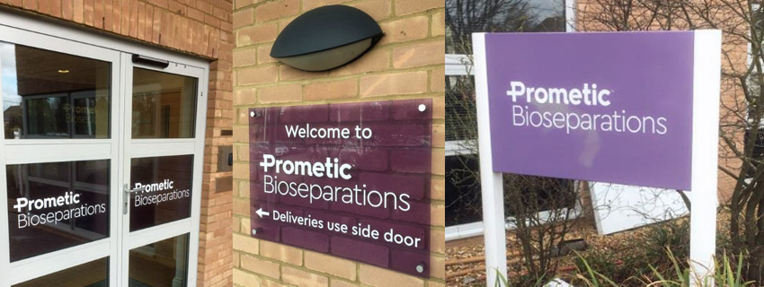Glass Signage | Building Signs