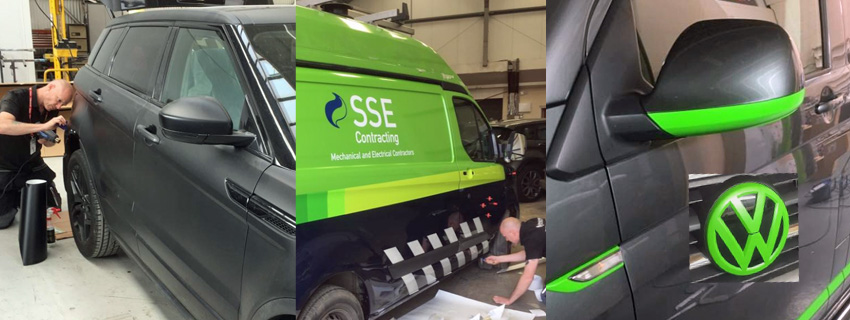 Van Wrapping | Van Wraps