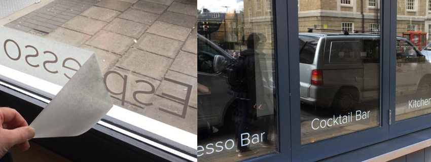 Window Lettering | Window Film
