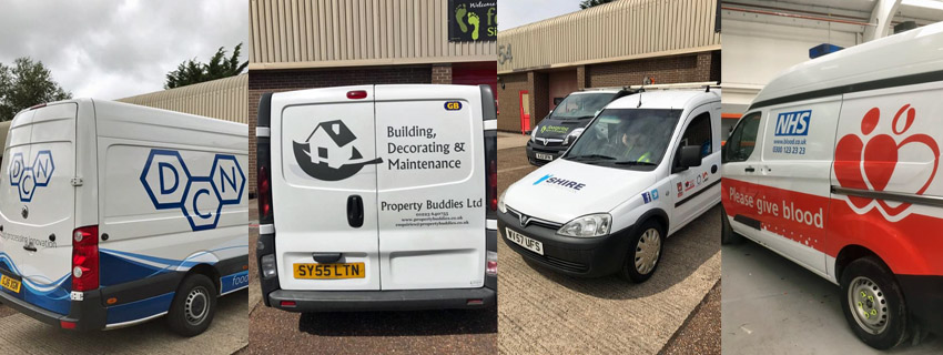 Van Wrapping | Van Wraps | Vehicle Graphics