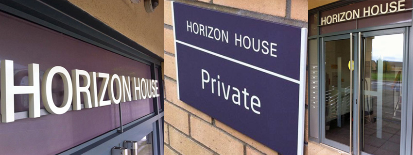 Stand Off Lettering   Building Signage   Signs and Graphics