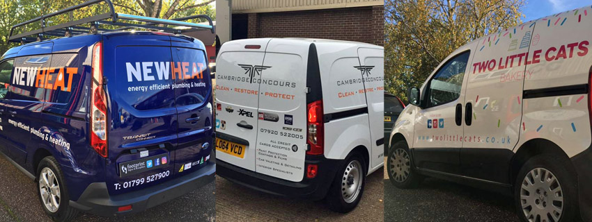 Van Wrapping | Vehicle Graphics Cambridge