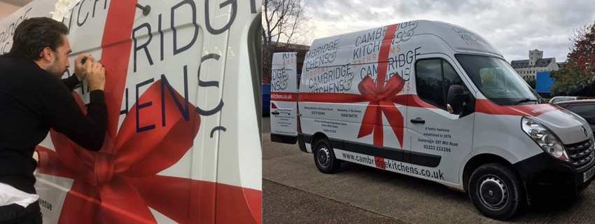 Van Wrapping | Vehicle Wraps | Signs and Graphics Cambridge