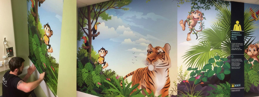 Wall Murals | Digital Wallcoverings | Large Format Digital