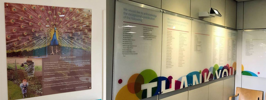 Perspex Signs | Printed Perspex Panels | Backprinted Perspex
