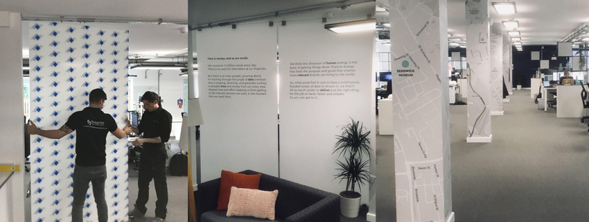 Acrylic Partition Panels | Acrylic Partition Walls | Digital Graphics