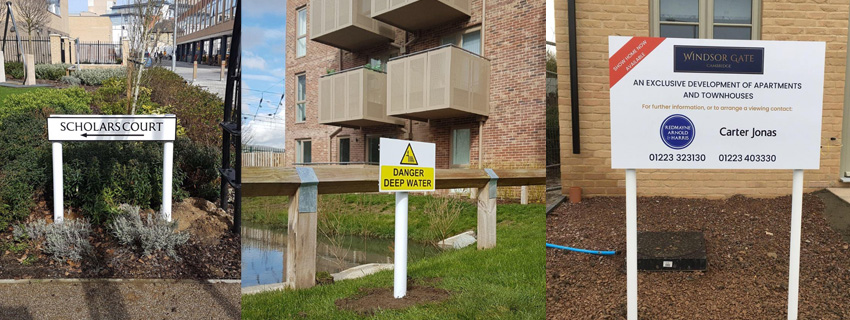 Wayfinding Signs | External Signs | Signmakers Cambridge