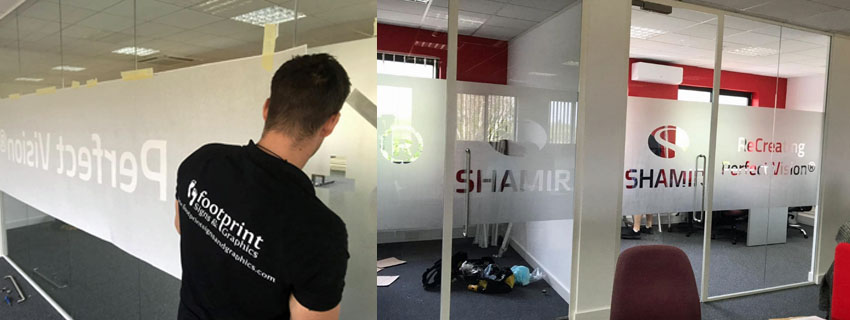 Glass Privacy Film | Footprint Signs and Graphics Cambridge