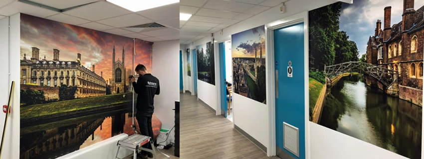 Wall Murals | Digital Print Wallcoverings | Signs and Graphics Printing