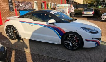 Car Graphics | Car Vinyl Stripes | Signs and Graphics Cambridge