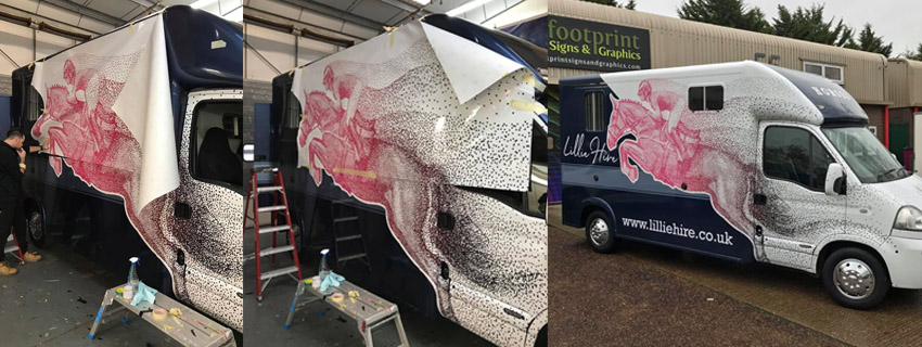Vinyl Wrap | Van Wrapping | Vehicle Graphics