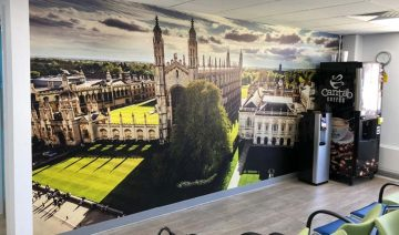 Wall Graphics Cambridge | Wall Mural