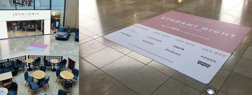 Shopping Centre Graphics | Vinyl Graphic Films | Floor Graphics